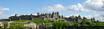 Medieval Citadel of Carcassonne.